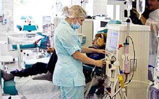 Лечение острой почечной недостаточности — терапия, хирургия, диализ