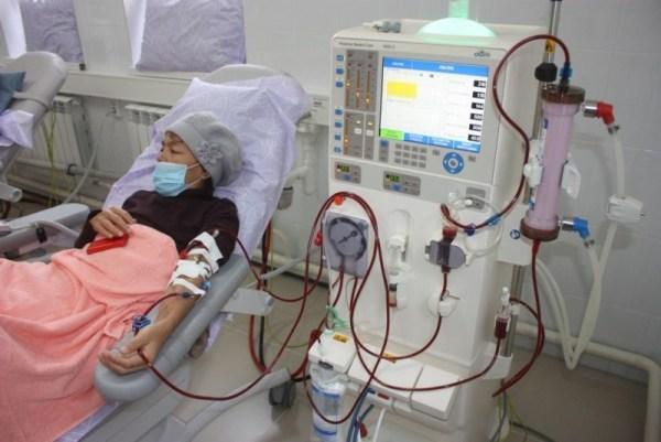 Лечение почечной недостаточности хронической формы, диализ