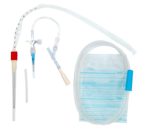 Виды наборов для плевральной пункции и плеврального дренирования, назначение инструментов