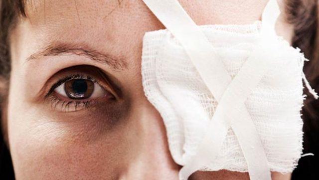 Лечение химических ожогов глаз разной степени и профилактика осложнений
