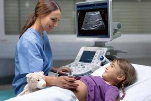 УЗИ брюшной полости в детском возрасте - показания, выполнение